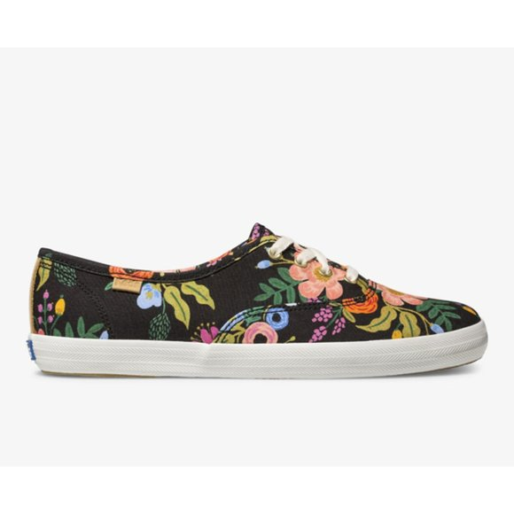 Keds Rifle Paper Champion Lively Floral Sneakers